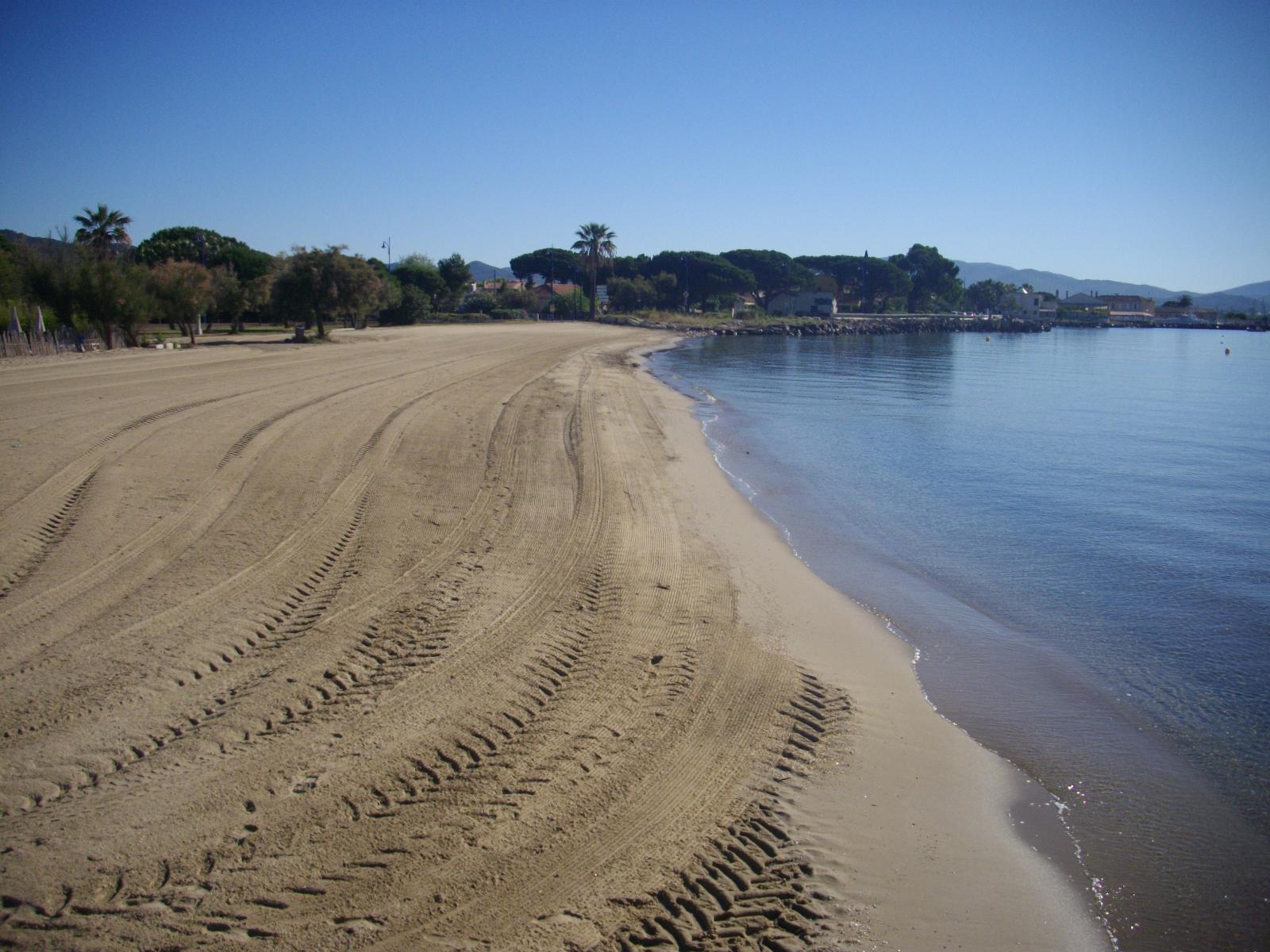 La plage des Salins